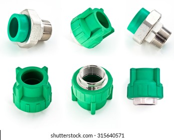 PPR male adapter set collection
