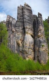Prachovske skaly in Cesky raj, Czech Republic, European Union