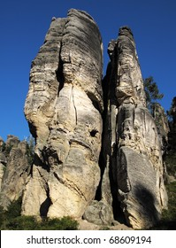 Prachovske skaly in Cesky raj, Czech Republic, European Union. Perfect location for climbers and hikers.