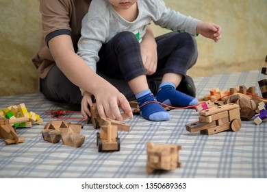 Practice of children's skills. Education. Learning, Wooden toys to practice skills