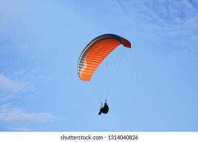 Practice of paragliding