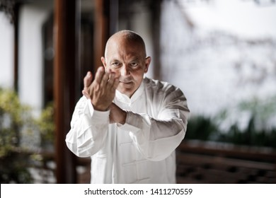 Practice Taijiquan from the European master in the Park