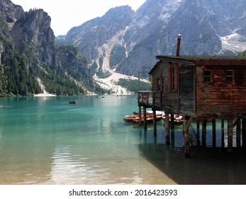 Pragser Wildsee Dolomiten Tirol Italien