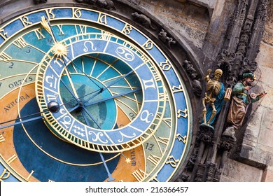 Prague astronomical clock at the Old Town City Hall from 1410 is the third oldest astronomical clock in the world and the oldest one still working