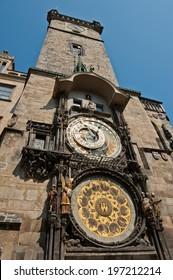 The Prague astronomical clock (Prague orloj), Czech Republic - Shutterstock ID 197212214