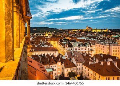 The Prague Astronomical Clock, or Prague Orloj a medieval astronomical clock first installed in 1410,