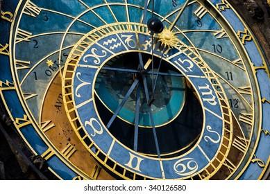 Prague Astronomical Clock (Orloj) in the Old Town of Prague