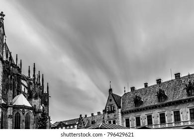 Prague Castle and City