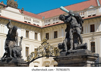 Prague Castle - vicinity. Prague Castle is a castle complex in Prague, Czech Republic.