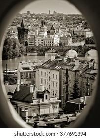 Prague Charles Bridge and Old Town