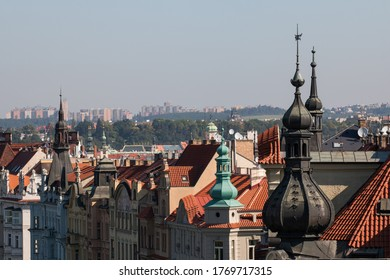 Prague Cityscape from Dancing House
