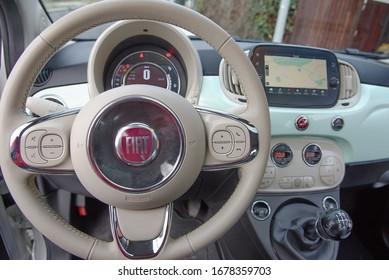 Ongebruikt Fiat 500 Interior Images, Stock Photos & Vectors   Shutterstock LB-46