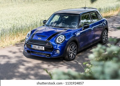 PRAGUE, THE CZECH REPUBLIC, 22. 6. 2018: New Mini Cooper S, model year 2019 in Czech