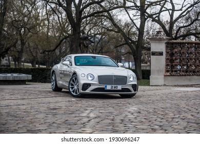 PRAGUE, THE CZECH REPUBLIC, 27. 4. 2018:  Bentley Continental