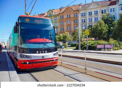 PRAGUE, CZECH REPUBLIC - 6 August 2018
