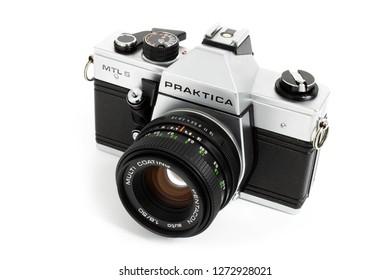 Praktica mtl u seq vintage cameras