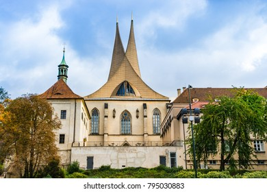 Prague, Czech Republic: Emmaus Monastery, an abbey established in 1347, was the only Benedictine monastery of the Bohemian kingdom and all Slavic Europe.