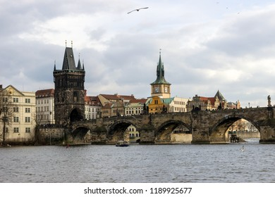 PRAGUE, CZECH REPUBLIC - FEBRUARY 2018: Rest in a wonderful city. the capital and largest city of the Czech Republic