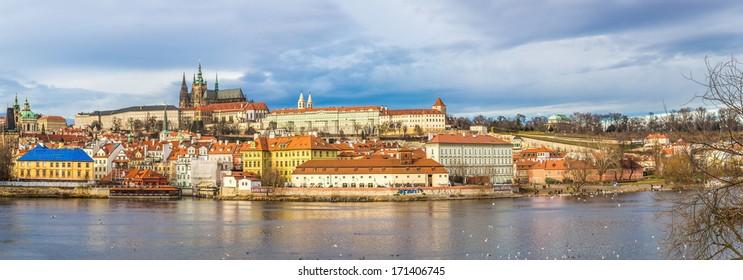 PRAGUE, CZECH REPUBLIC - JUNE 11: Prague,Czech Republic, June 11, 2013, Annually Prague is visited by more than 3.5 million tourists