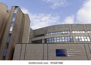 PRAGUE, CZECH REPUBLIC - MARCH 24, 2016: The European Global Navigation Satellite Systems Agency (European GNSS Agency; GSA) headquarters on March 24, 2016 in Prague, Czech Republic.