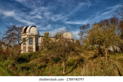 PRAGUE, CZECH REPUBLIC - October 26, 2019: Observatory in Dablice, Prague, Czech Republic