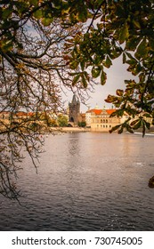 Prague Czech Republic. River view