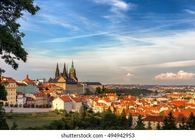 Prague, Czech Republic, skyline panorama
