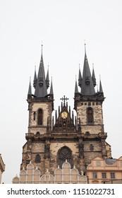 Prague old town hall tower, Czech Republic