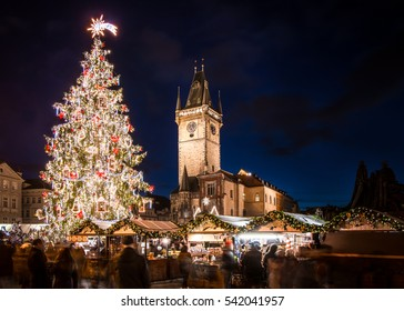Prague  Old Town Square - Christmas market 2016