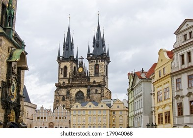 Prague, Old Town, Tyn Church