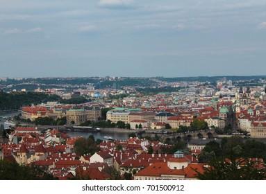 Prague Panorama city