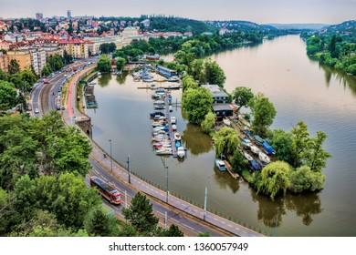 Prague, panorama from Vysehrad