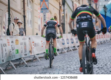 """Prague Stairs 2018(Pražské schody 2018), May 29 2018 : """"Prague Stairs"""" are one of the oldest and most attractive international urban mountain bike races. One of the oldest European bikes races."""
