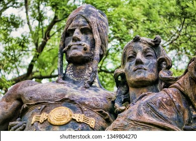 Prague, Vysehrad Ancient statues