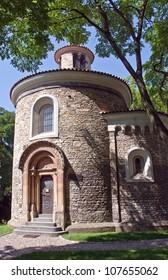 Prague's oldest Romanesque structure - St Martin Rotunda in Vysehrad