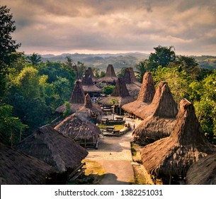 Prai Ijing village, a traditional village that became a tourism site in West Sumba, Indonesia.
