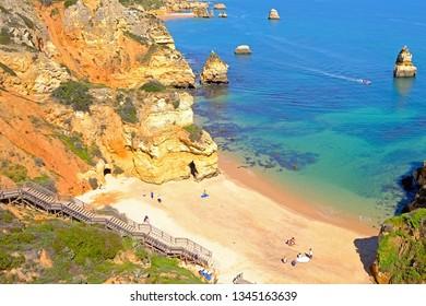 Praia D'Ana in the Algarve Lagos Portugal