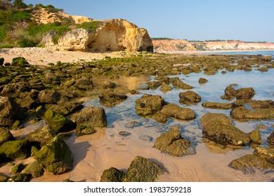 Praia de Falesia, Algarve, Portugal.