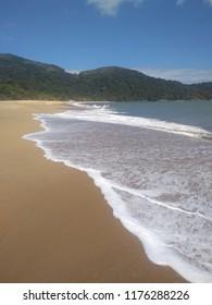 Praia de Toque Toque Pequeno em São Sebastião - SP - Brasil