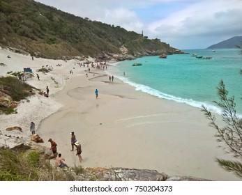 Praia do Farol beach view, Arraial do Cabo
