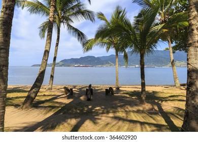 Praia do Perequ�ª - Ilhabela - Brazil