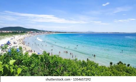 Praia do Pero, Cabo Frio, Rio de Janeiro, Brazil (Pero's beach) - View of the state park of  Costa Do Sol - Shutterstock ID 1354657292