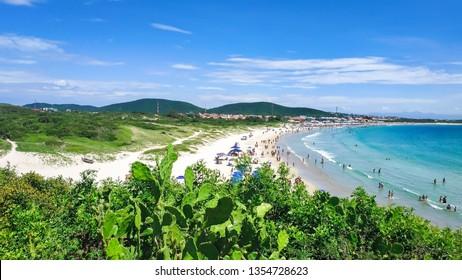 Praia do Pero, Cabo Frio, Rio de Janeiro, Brazil (Pero's beach) - View of the state park of  Costa Do Sol - Shutterstock ID 1354728623