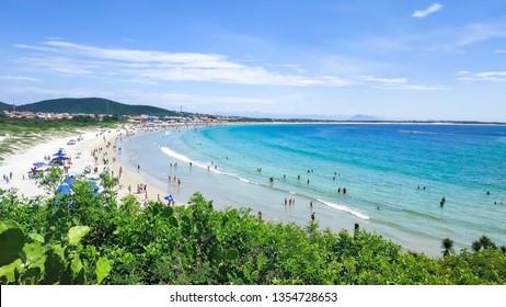 Praia do Pero, Cabo Frio, Rio de Janeiro, Brazil (Pero's beach) - View of the state park of  Costa Do Sol - Shutterstock ID 1354728653