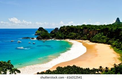 Praia do Sancho, Fernando de Noronha. Pernambuco, Brazil