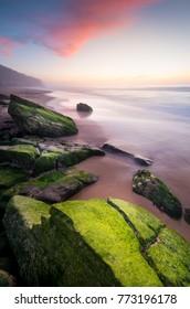 Praia Pequena do Rodízio sunset