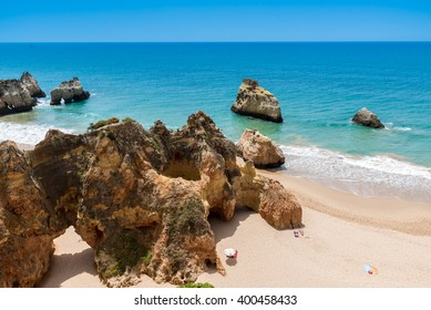 Praia tres irmaos - Beautiful coast of Algarve - Portugal