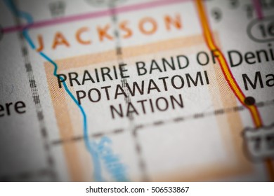 Prairie Band of Potawatomi. Kansas. USA.