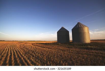 Prairie Grain Silos