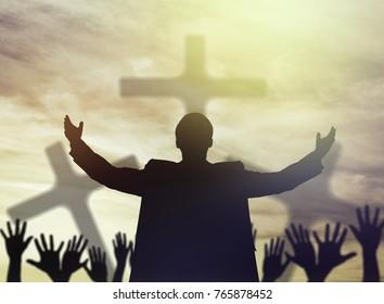 Praise, worship, christian.